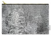 Snowy Woodland Carry-all Pouch