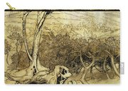 So Nobody Can Quite Explain Exactly Where The Rainbows End Carry-all Pouch by Arthur Rackham