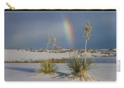 Soaptree Yucca And Rainbow White Sands Carry-all Pouch