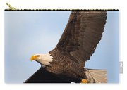 Soaring American Bald Eagle Carry-all Pouch