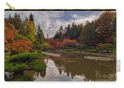 Soaring Autumn Colors In The Japanese Garden Carry-all Pouch