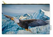 Soaring Bald Eagle Carry-all Pouch
