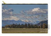 Soaring Skagit Snow Geese Carry-all Pouch