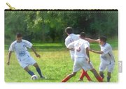 Soccer Ball In Play Carry-all Pouch