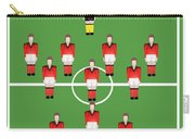 Soccer Team Football Players Carry-all Pouch