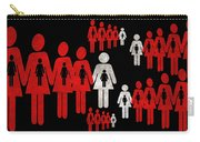 Social Responsibility 1 Part 1 Carry-all Pouch by Angelina Vick