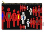 Social Responsibility 1 Part 3 Carry-all Pouch by Angelina Vick