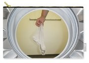 Sock In The Washing Machine Carry-all Pouch by Mats Silvan