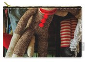 Sock Monkey Carry-all Pouch