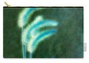 Soft Blue Grass Carry-all Pouch