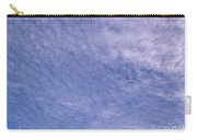 Soft Clouds Blue Sky Carry-all Pouch