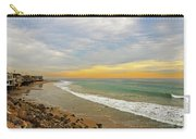 Soft Colors On The Coast Carry-all Pouch by Lynn Bauer