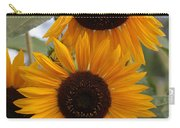 Soft Colors Sunflowers Carry-all Pouch