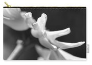 Soft Focus Daisy Flower Monochrome Carry-all Pouch