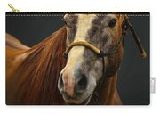 Soft Focus Horse Carry-all Pouch