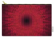 Soft Kaleidospiral Red Carry-all Pouch