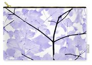 Soft Lavender Leaves Melody Carry-all Pouch