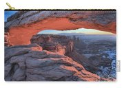 Soft Light On The Rocks Carry-all Pouch