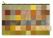 Soft Palette Rustic Wood Series Collage Lll Carry-all Pouch