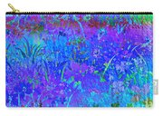 Soft Pastel Floral Abstract Carry-all Pouch