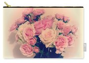 Soft Pastel Roses Carry-all Pouch
