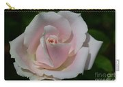 Soft Pink Rose Carry-all Pouch