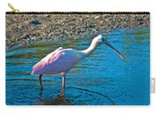 Soft Pink Spoonbill Carry-all Pouch