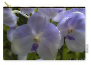 Soft Purple Orchids Carry-all Pouch