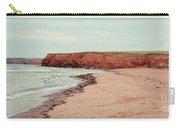 Soft Rain On The Beach Carry-all Pouch by Edward Fielding