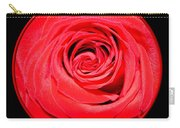 Soft Red Rose Closeup Carry-all Pouch