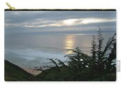 Soft Silvery Pacific Sunset Carry-all Pouch