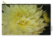 Soft Yellow Dahlia Carry-all Pouch