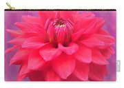 Softer Summer Dahlia Carry-all Pouch