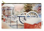 Softly Christmas Snow Carry-all Pouch by Kip DeVore