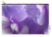Softness Of Purple Begonias Carry-all Pouch