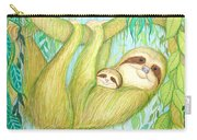 Soggy Mossy Sloth Carry-all Pouch