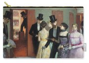 Soiree At The Opera Carry-all Pouch by Ernest Rouart