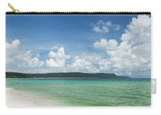 Sok San Area Of Long Beach In Koh Rong Island Cambodia Carry-all Pouch
