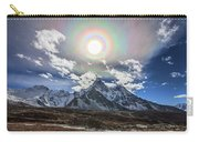 Solar Corona Above The Ama Dablam Carry-all Pouch