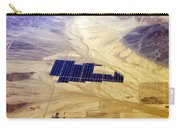 Solar Panels Aerial View Carry-all Pouch