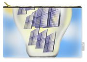 Solar Power Lightbulb Carry-all Pouch