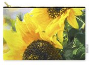 Solar Sunflowers Carry-all Pouch