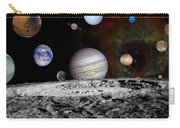 Solar System Montage Of Voyager Images Carry-all Pouch by Movie Poster Prints