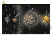 Solar System Orbits, Illustration Carry-all Pouch