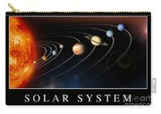 Solar System Poster Carry-all Pouch by Stocktrek Images