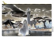Solarized Infrared City Park Carry-all Pouch