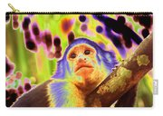 Solarized White-faced Monkey Carry-all Pouch