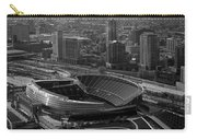 Soldier Field Chicago Sports 05 Black And White Carry-all Pouch