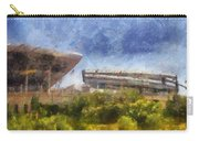 Soldier Field West Side Photo Art 02 Carry-all Pouch