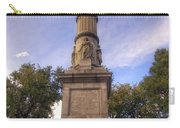 Soldiers And Sailors Monument - Boston Carry-all Pouch by Joann Vitali